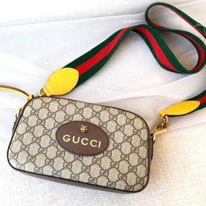 GUCCI Neo Vintage Supreme Messenger Should9383